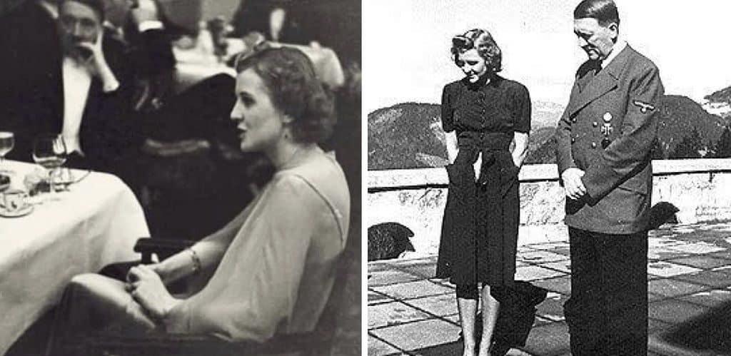 Гитлер с женой