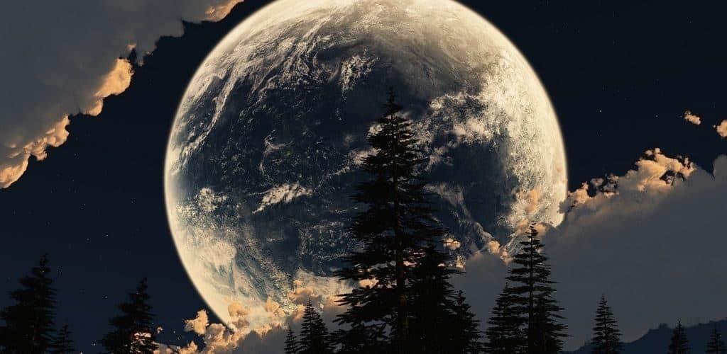 Где самая большая луна