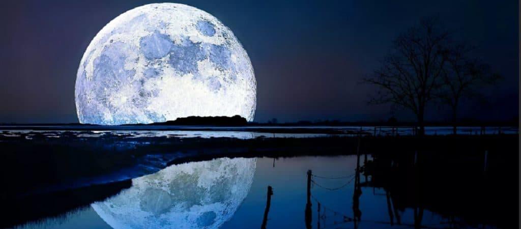 Близость луны к горизонту