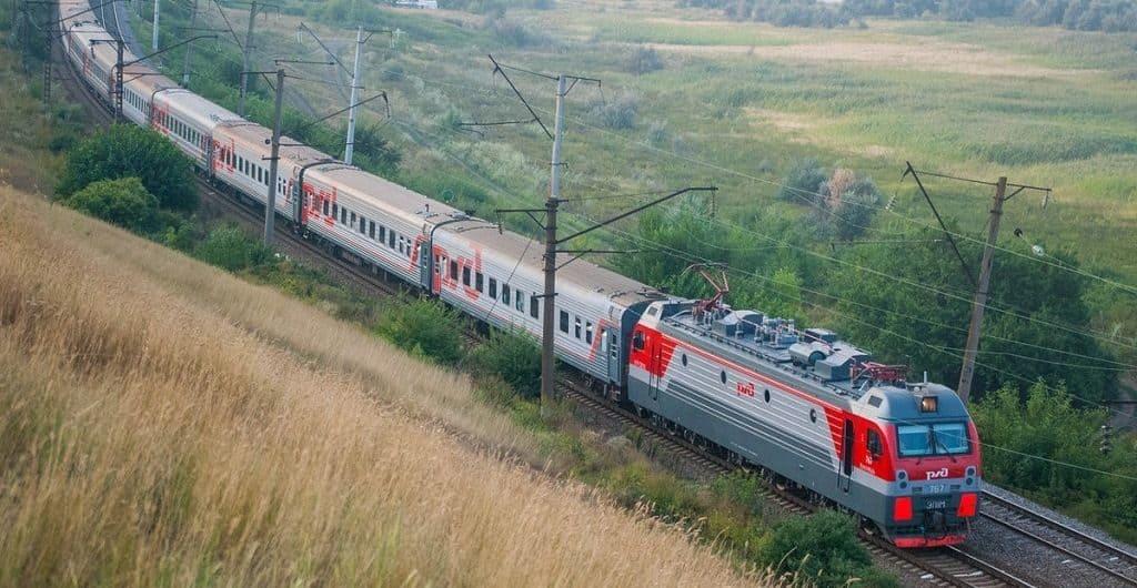 На поезде по России