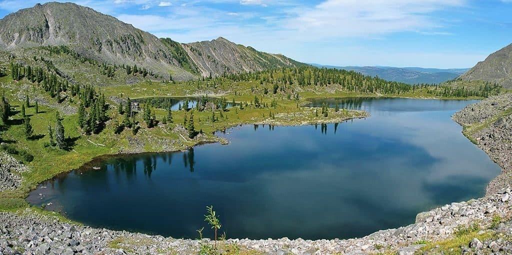 Озеро Шира в Хакасии