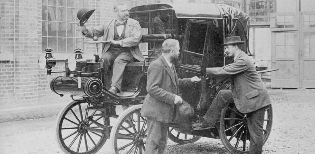 Первые такси в Европе