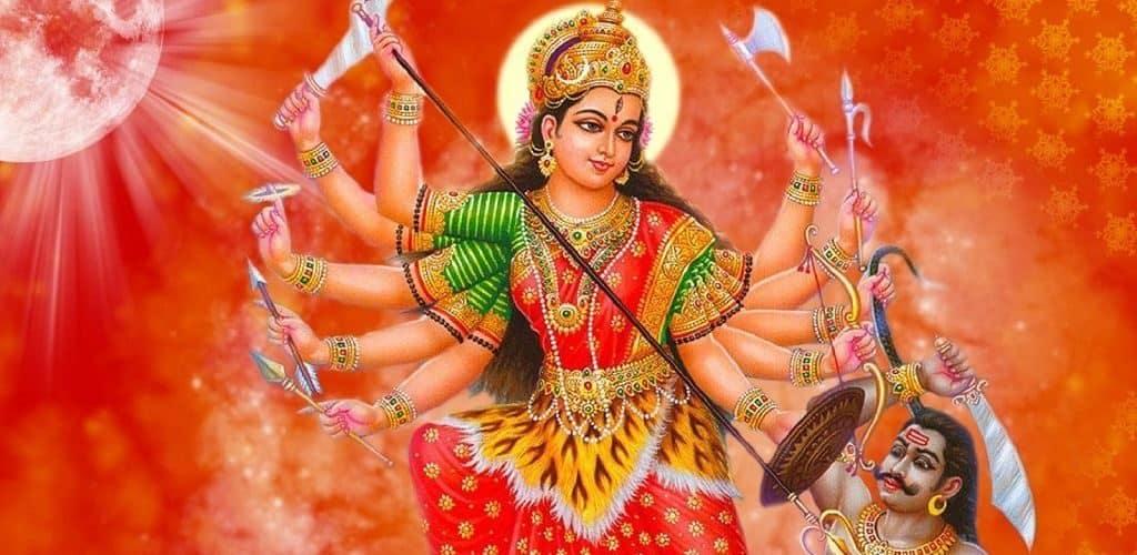 Индийская воительница Дурга