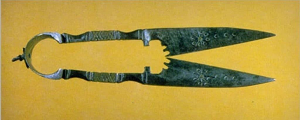 Ножницы в Древнем Египте