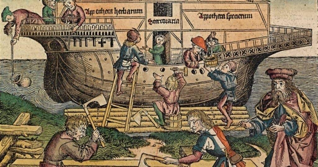 Начало строительства ковчега