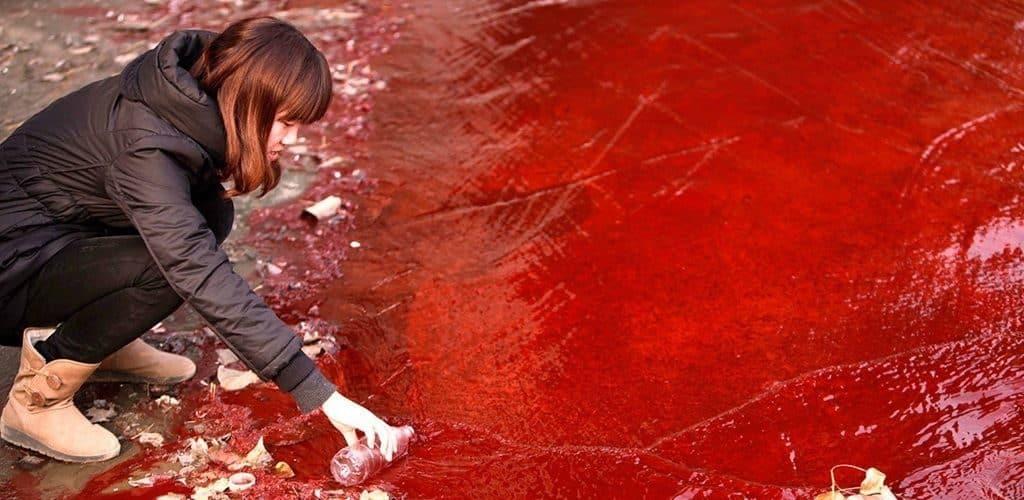 Красный дождь в Керале