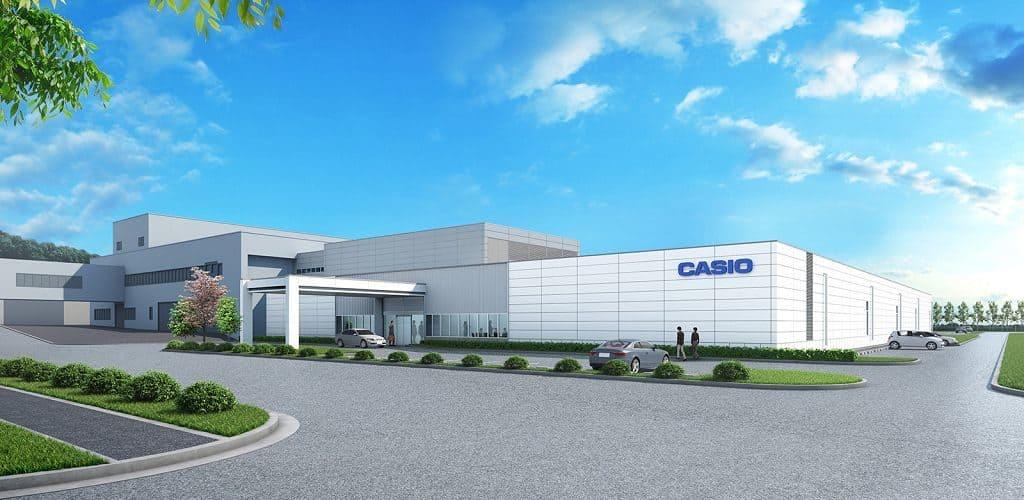 Фабрики Casio