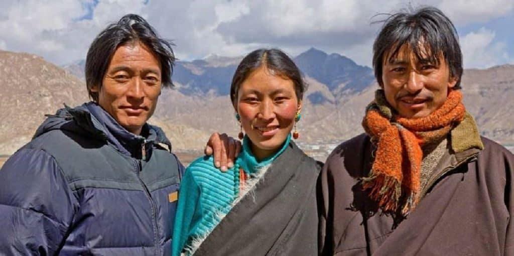 Многомужество на Тибете