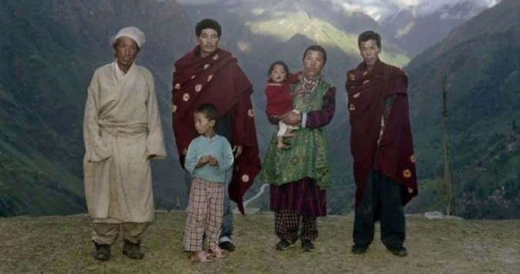 Полиандрия (Тибет)