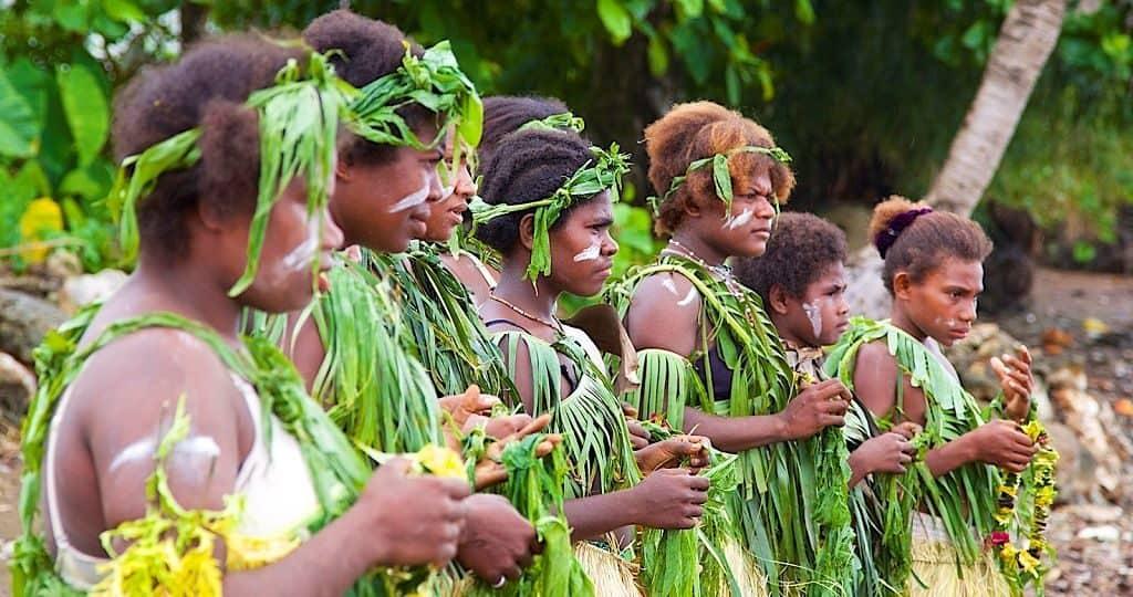 Меланезия - многомужество