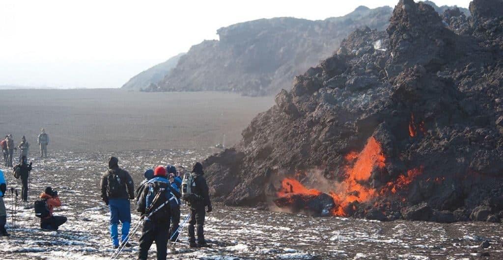 Вулкан Эйяфьядлайёкюдль (Исландия)