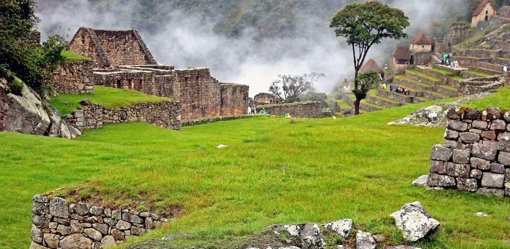 Строения в Мачу-Пикчу