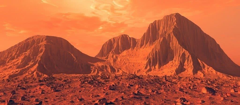 Горы Марса