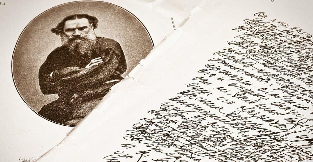 Почерк Льва Толстого
