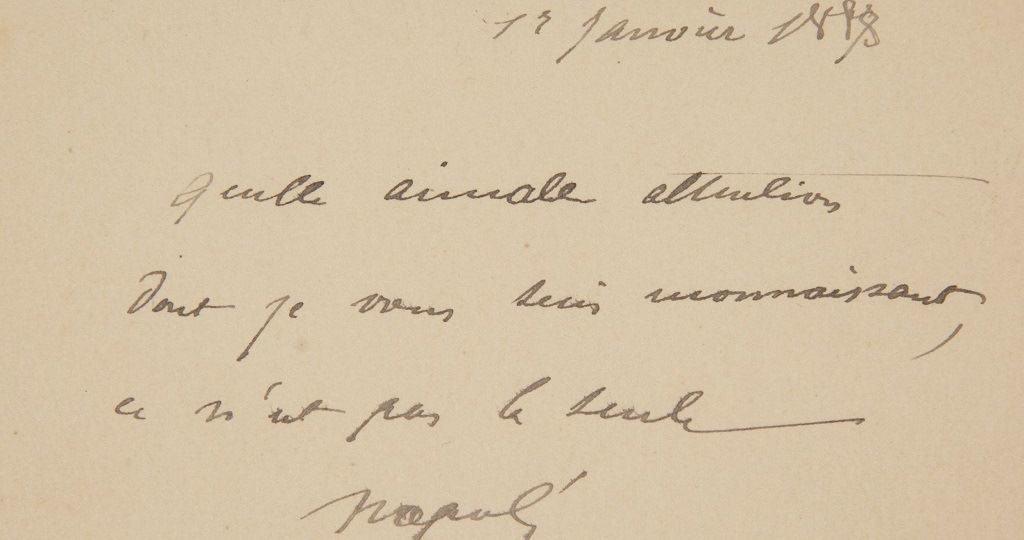 Почерк Наполеона