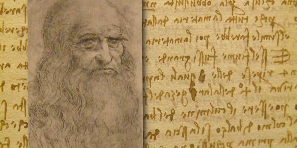 Зеркальный почерк Леонардо да Винчи
