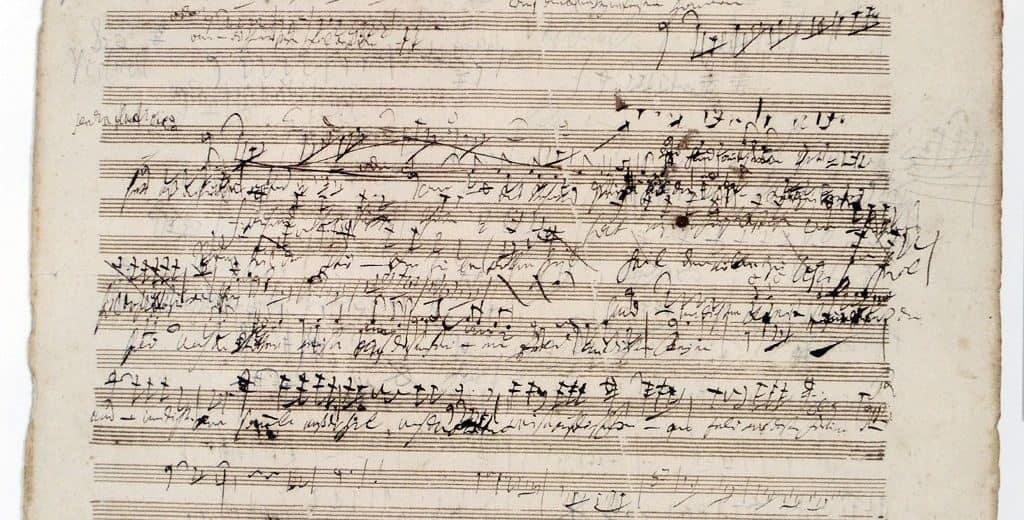 Ноты Бетховена