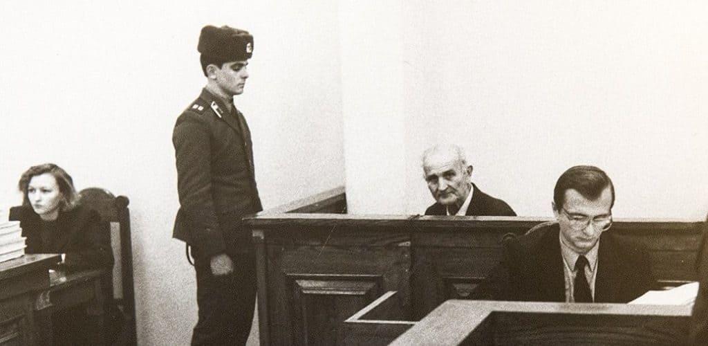 Предатель Родины Г.Васюра на суде