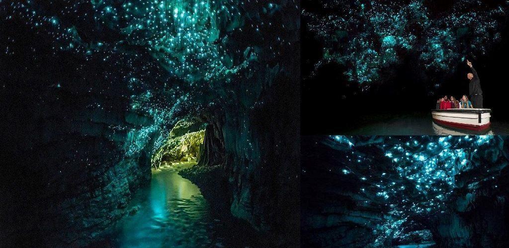 Светящиеся пещеры Вайтомо