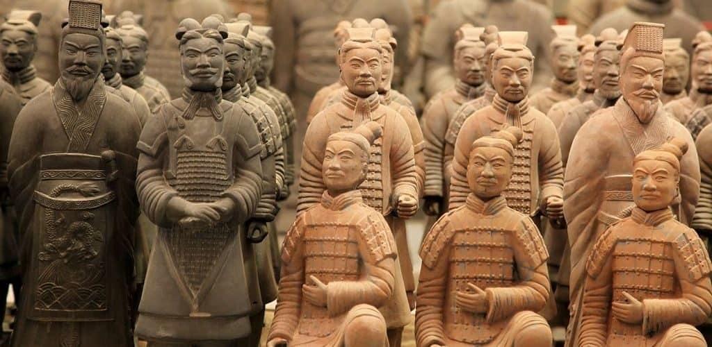 Секреты создания глиняных скульптур - терракотовых воинов