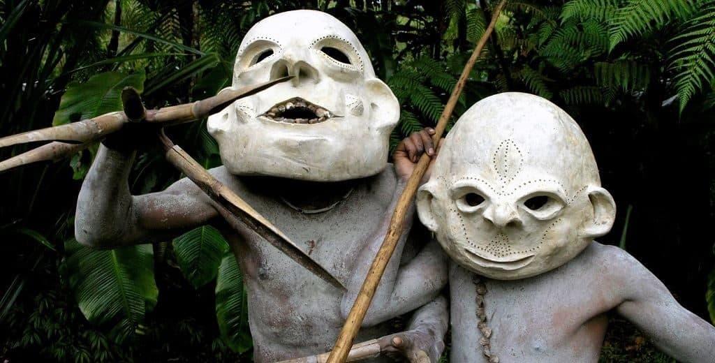 Странные племена