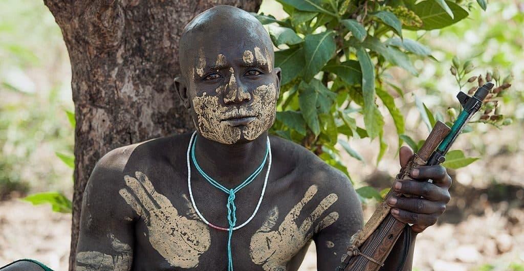 Мужчина племени мурси