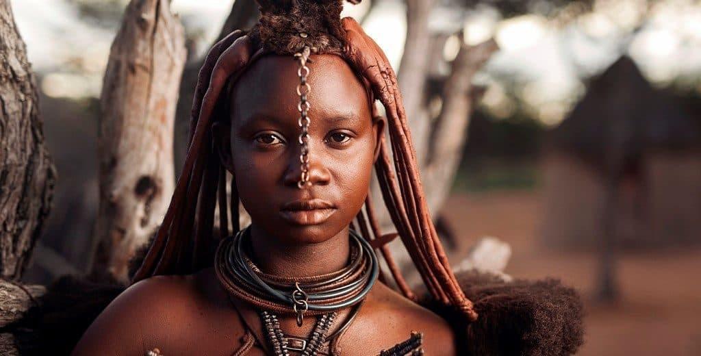 Девушки из племени химба