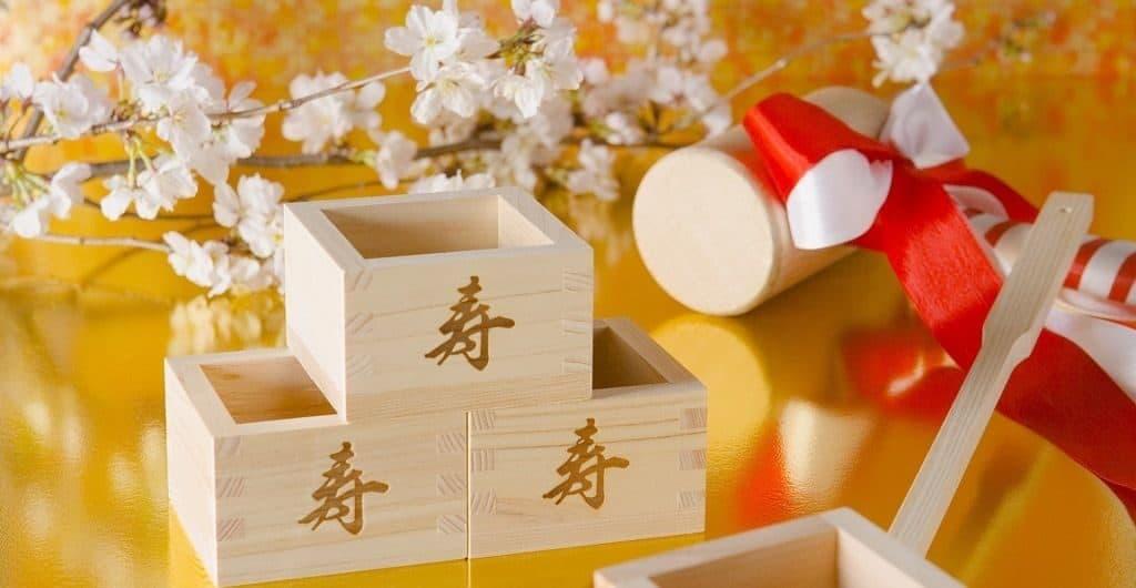 Новогодние японские сувениры