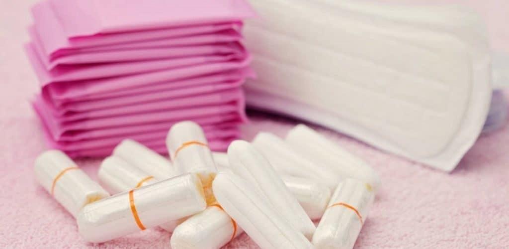 Средства гигиены при менструации
