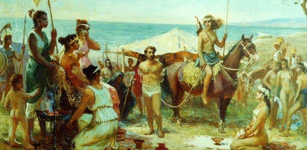 Откуда произошли амазонки