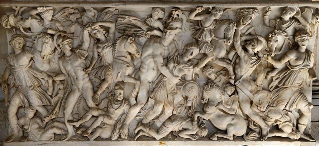 Амазонки в греческих скульптурах