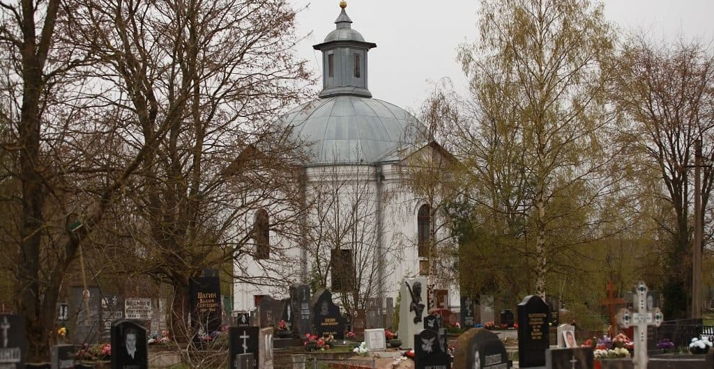 Южное кладбище. Санкт-Петербург