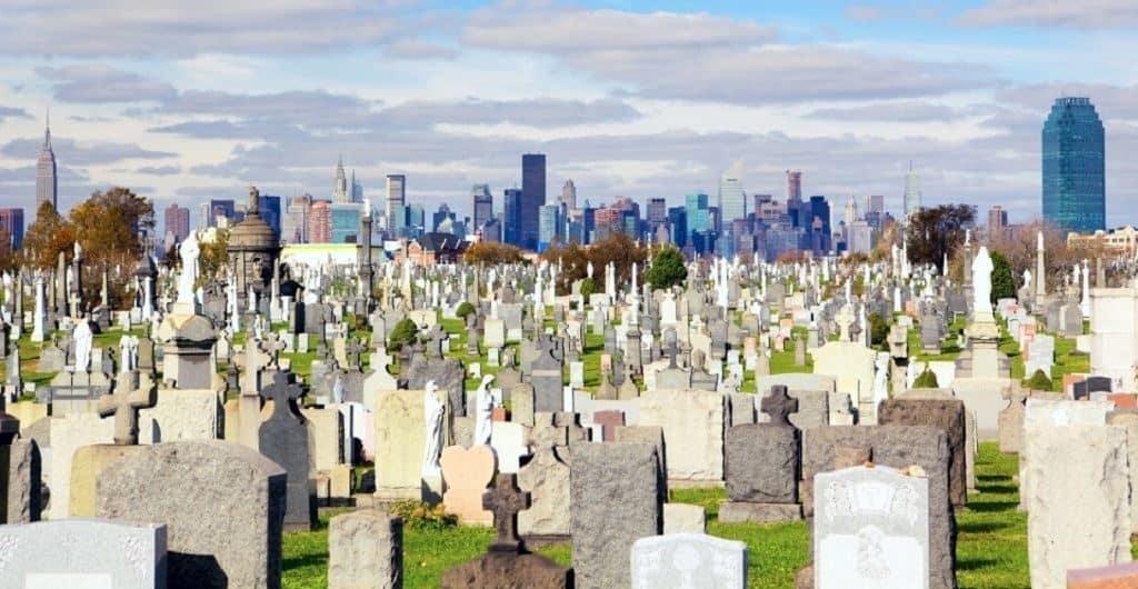 Голгофа - самое старое кладбище в США