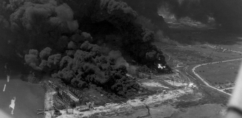 Взрыв и пожар в Техасе в 1947 году