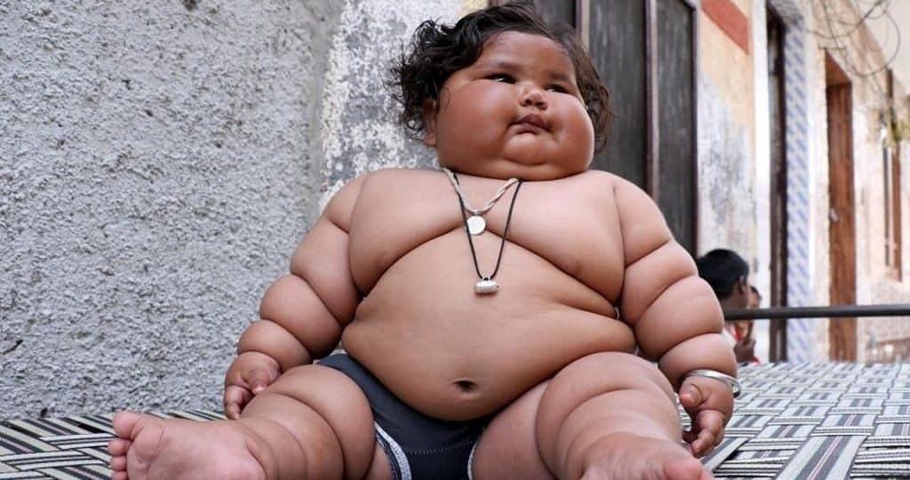 Самые толстые дети