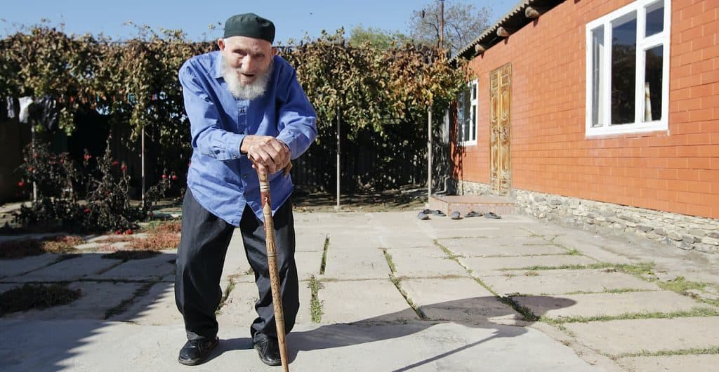 Дагестанский долгожитель Магомед Лабазанова