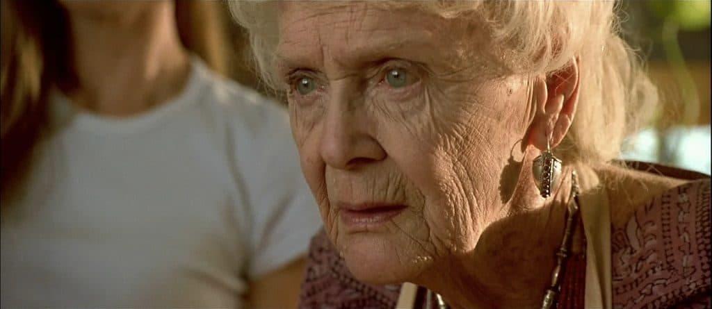 """Глория Стюарт в роли """"старшей Розы"""""""