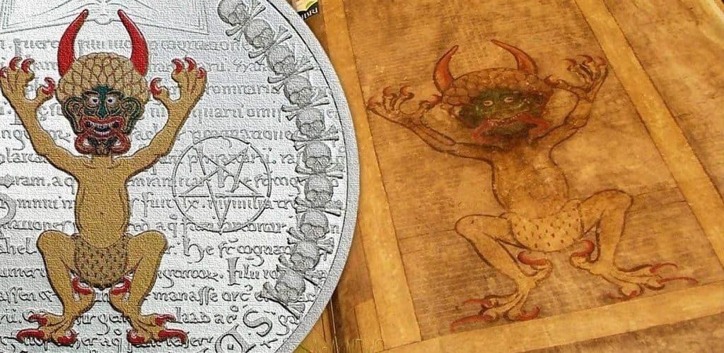 Иллюстрации в Библии Дьявола
