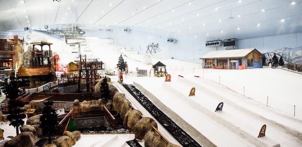 Горнолыжный комплекс Ski Dubai