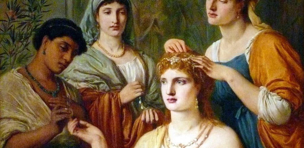 Женская красота в древнем мире