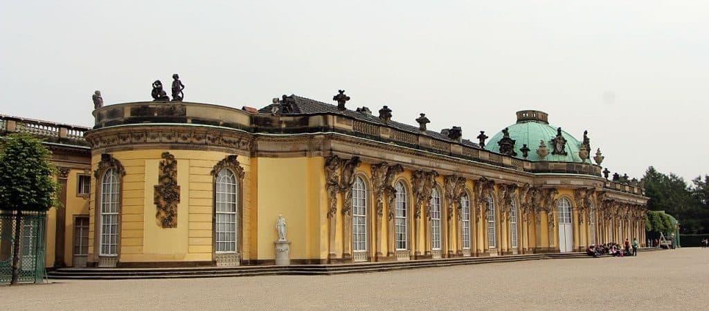 Дворец Фридриха Великого Сан-Суси