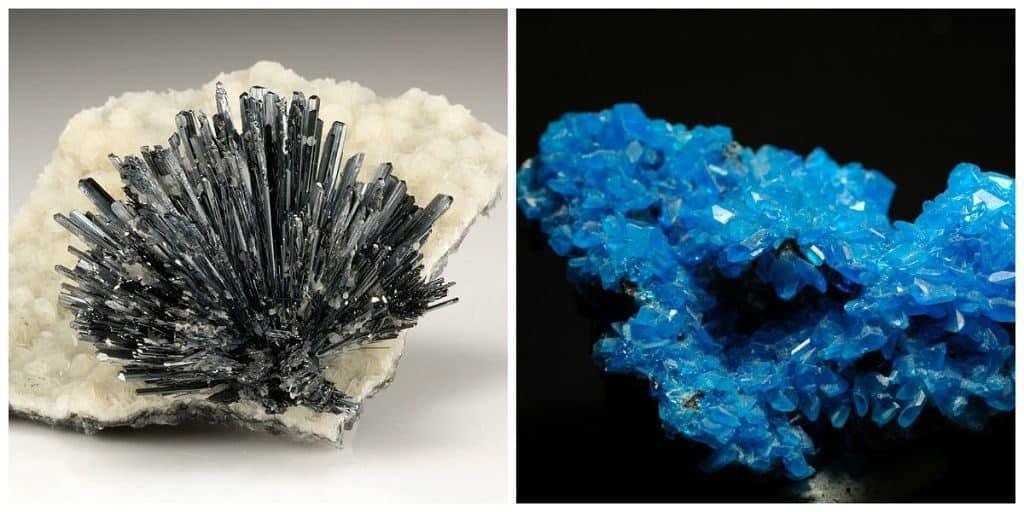 Торбенит и халькантит
