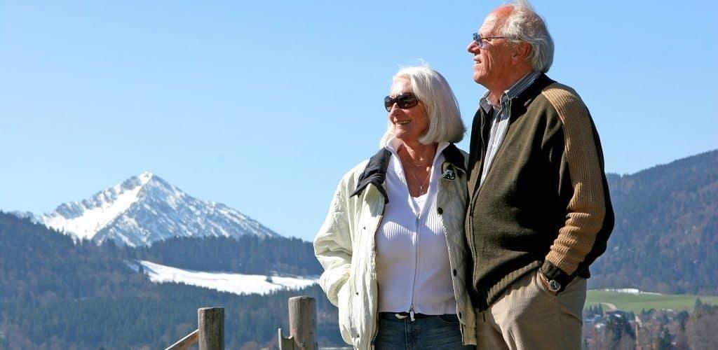 Пенсионеры Норвегии и Шртландии