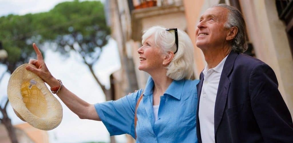 Пенсионеры путешествуют