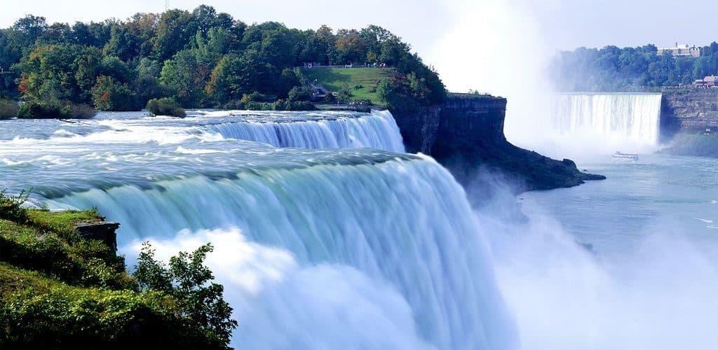 Водопад на Ниагаре