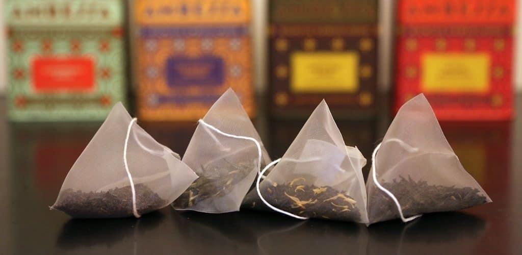 Треугольные пакетики чая