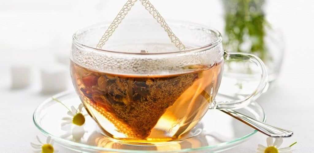 Смешанные сорта чая в пакетиках