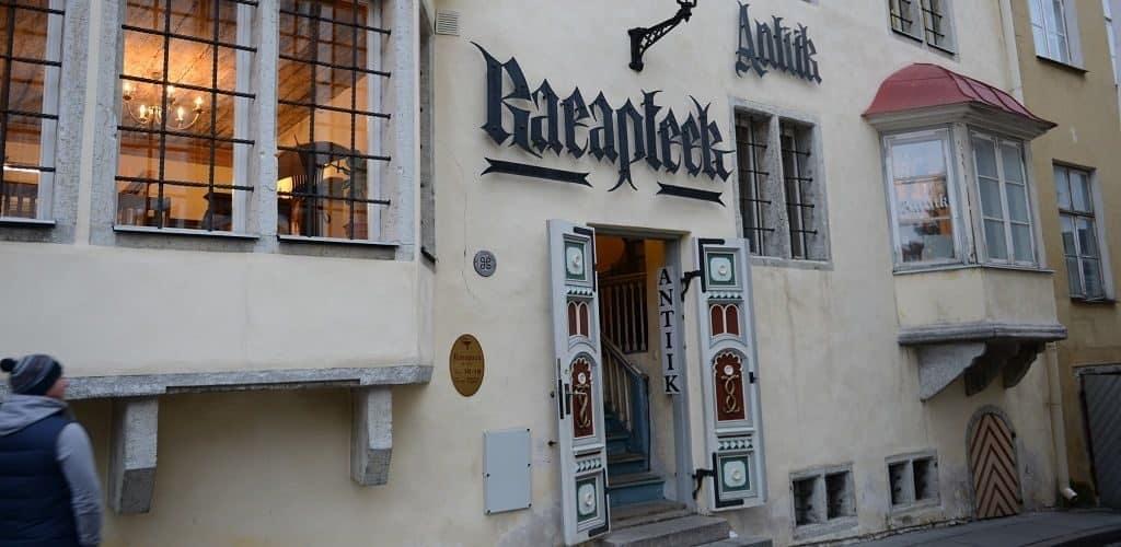 Ратушная аптека в Таллине