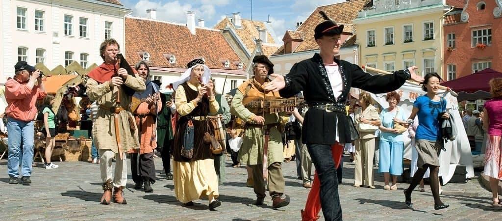 Эстонские праздники