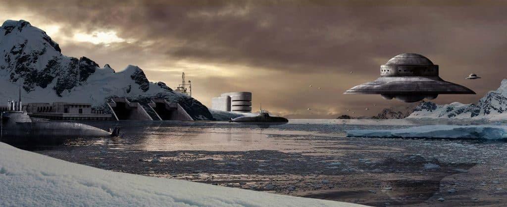 Загадка НЛО - есть ли базы на Земле